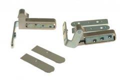 Zawias niewidoczny SFS CAB-R 180 chrom-matowy z 2 osłonkami