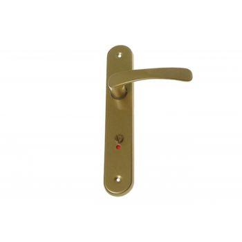 Klamka drzwiowa 72 WC złota