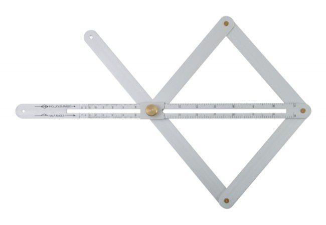 """Kątomierz aluminiowy nastawny pomiart wew. 5-85"""", zew. 10-170"""""""