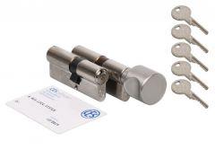 Komplet wkładek CES PSM 40/30 + 40G/30 klasa 6 D, 5 kluczy nacinanych