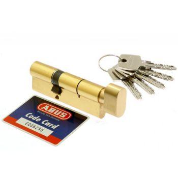 Wkładka bębenkowa Abus KD10 50g/30 mosiądz z gałką kl 5.2