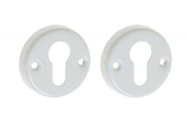 Szyld drzwiowy biały n/wkład