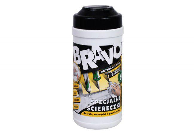 Ściereczki Bravo 20x30cm (80szt. ) pojemnik