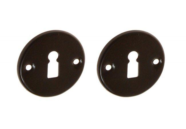 Tarczka brązowa na klucz