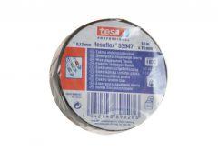 Taśma elektroizolacyjna 5000V PVC Tesa czarna, długość 10 m, szerokość 15 mm (53948-00010-25)