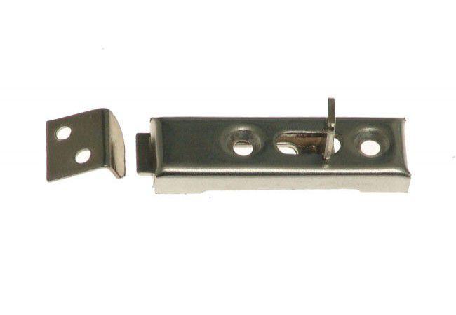 Zasuwka meblowa 5cm (50x15 mm) nikiel