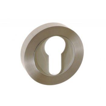 Szyld drzwiowy n/wkład nikiel/chrom (KORA)