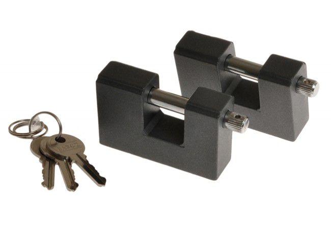 Kłódka T25/10 w systemie jednego klucza (2szt)