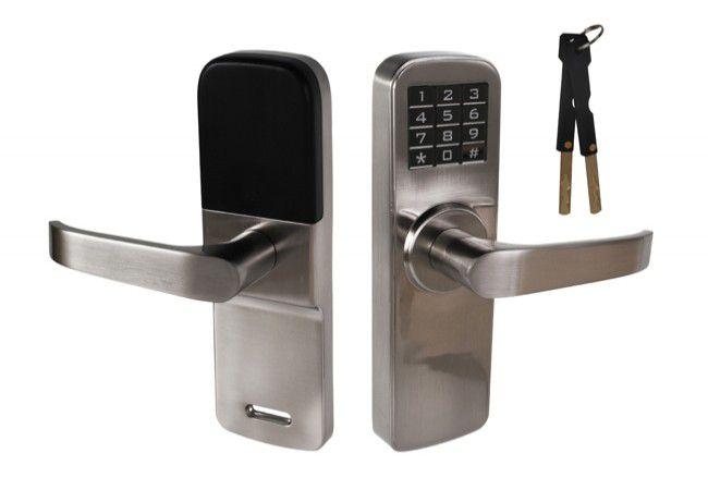 Klamka elektroniczna DIGIT-M5 z klawiaturą kodową, nikiel