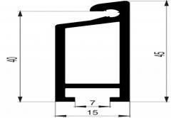 Próg drzwiowy LPD 15 aluminium