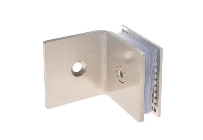 Łącznik ściana-szkło do kabin prysznicowych TD-863 90 stopni 8-12 mm mosiężny satynowany
