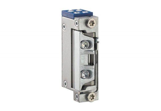 Elektrozaczep GEZE A5020-FA z prowadzeniem zapadki, 6-24 V AC/DC, z blokadą