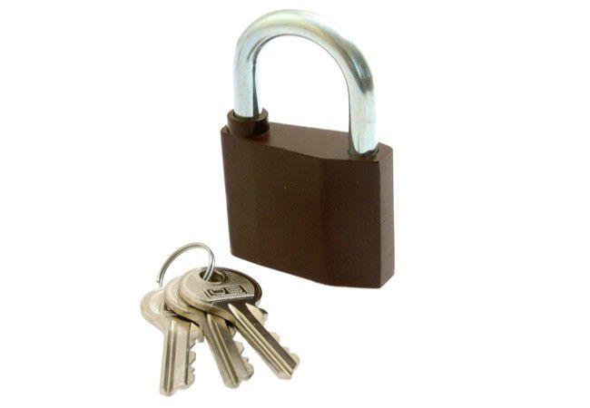 Kłódka LOB znalowa KZ 60(duży klucz)