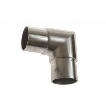 Kolanko 90 st. wklejane na rurę D=42,4x2 mm,nierdzewne AISI304 (kątowe proste)