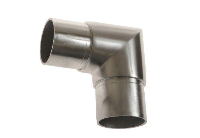 (9) Kolanko 90 st. wklejane na rurę D=42,4x2 mm,nierdzewne AISI304 (kątowe proste)