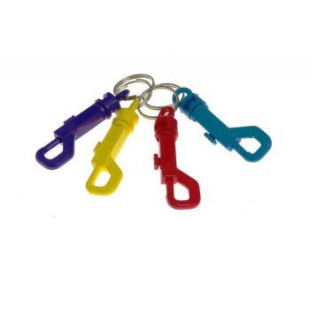 Brelok (karabińczyk) plastikowy do kluczy