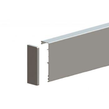 Maskownica HERKULES GLASS 2010 mm/30 mm, aluminiowa z zaślepkami