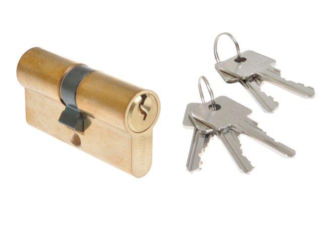 Wkładka bębenkowa B-Harko H6 30/30 mm mosiądz (5 kluczy) 6-zastawkowa kl.6.0 (szt)