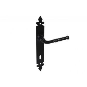 Klamka LILIA TPK 72 czarna klucz