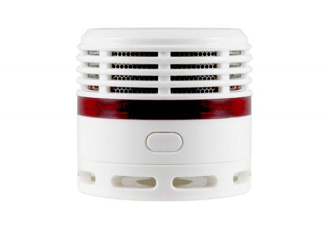 Czujnik  dymu EL-HOME SD-13B8 bateryjny czujnik foto-optyczny żywotność baterii i sensora 10 lat
