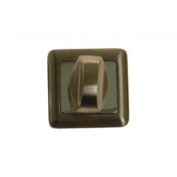 Szyld kwadratowy WC nikiel/chrom (BELLA, FORTE)