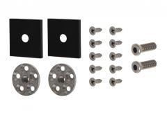 Mocowanie do uchwytu jednostronnego  WALA QA , czarna anoda (do profilu aluminiowego)