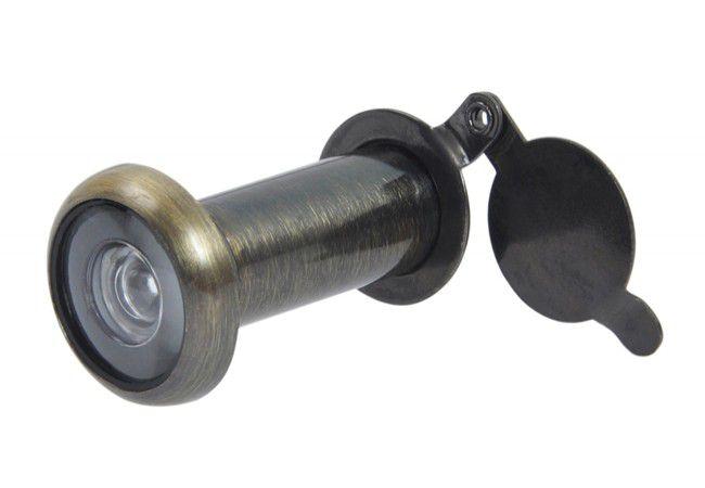 Wizjer drzwiowy fi 14 50-90 mm AB-patyna