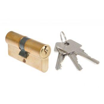 Wkładka bębenkowa B-Harko H6 30/30 mm mosiądz 6-zastawkowa, kl. 6.0- 3 klucze.