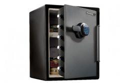 Sejf Master Lock LFW205FYC z zamkiem elektronicznym, ochrona przed ogniem i wodą, (wys. x szer. x gł.:60,5 x 47,2 x 49cm)