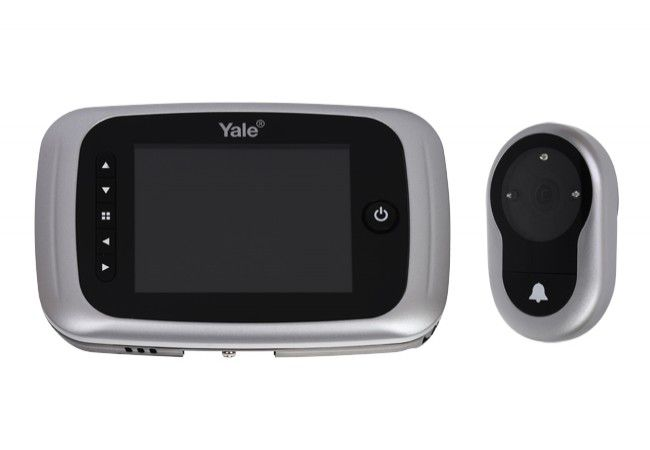 """Cyfrowy wizjer drzwiowy YALE ( ASSA-ABLOY) z ekranem LCD(3,5""""""""), z możliwością nagrywania"""