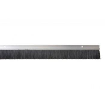 Listwa uszczelniająca aluminiowa ze szczotką H3-14 AN 1m (dł.włosia 14 mm)
