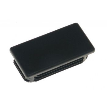 Zaślepka prostokątna ZP 20x40 czarna