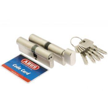 Kpl.wkładek Abus D10+KD10NP 30/50 + 30g/50 nikiel perłowy kl 5.2