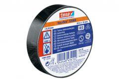 Taśma elektroizolacyjna 5000V PVC Tesa czarna, długość 20m, szerokość 19mm (53947-00005-15)