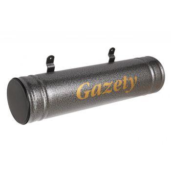 Gazetnik-tuba STS stare srebro