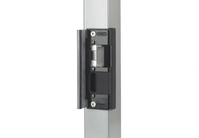 Elektrozaczep Locinox SE-R Ruptura (rewersyjny), do zamków zewnętrznych