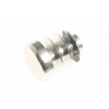 Zaślepka do rury 12 mm nikiel szczot. -plastik wcisk(116-192)