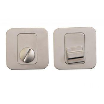 Tarczka kwadratowa WC ALEX / FENIKS/PEM  chrom matowy T-004-120 G6