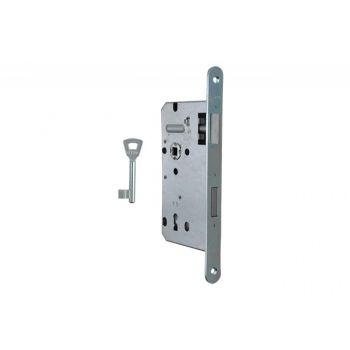 Zamek ZW100 72/55 klucz ocynk srebrny