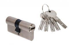 Wkładka bęb. DORMA DEC 261 35/55 nikiel 3 klucze(atest klasa 6.2 C)