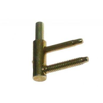Skrzydełko czopowe kpl. z pierścieniem regulowane fi14 bez teflonu