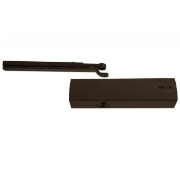 Samozamykacz G-U BKS OTS440 / 430 (kpl.) z ramieniem standard brązowy