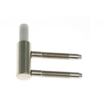 Skrzydełko dolne fi 15 z tulejką plastikową(8050)nikiel ZA-RZ-192