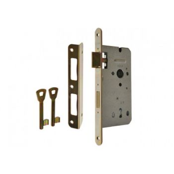 Zamek ZW100 60/50 n/klucz ocynk złoty
