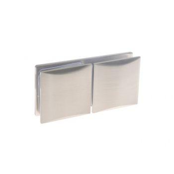 Łącznik szkło-szkło do kabin prysznicowych TD-865 180 stopni 8-12 mm mosiężny satynowany