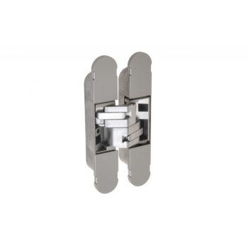Zawias niewidoczny CEAM 1130, z regulacją 3D, srebrny (udźwig 2 sztuki-40kg, 3 sztuki - 60kg)