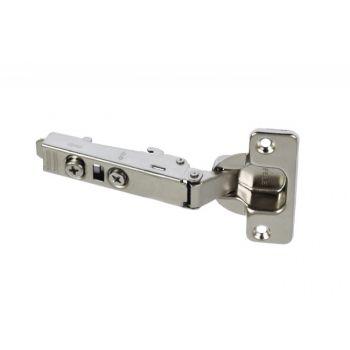 Zawias puszkowy Hafele  Metalla samodomykający prosty  110x35/6 bez prowadnika