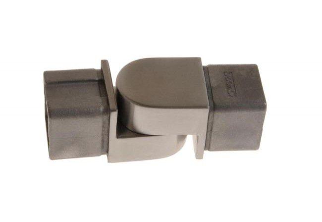(29) Kolanko 90st. wklejane przegubowe profilu 40x40x2 mm,nierdzewne AISI304