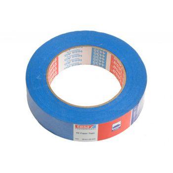 Taśma malarska Tesa do wew. 28 dni i na zew. 14 dni, niebieska, długość 50 m, szerokość 30 mm (04435-00016-00)