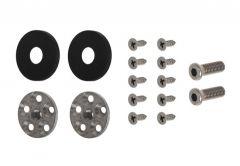 Mocowanie do uchwytu jednostronnego  WALA PA , czarna anoda (do profilu aluminiowego)